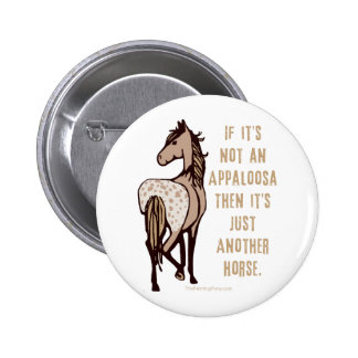 Just Another Horse Pinback Button