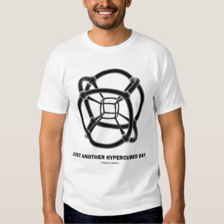 Just Another Hypercubed Day (Polytope) Shirt