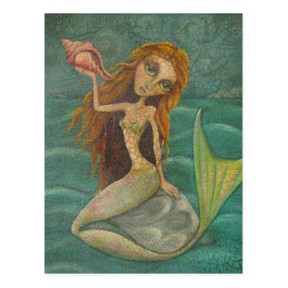 Just Another Mermaid Postcard