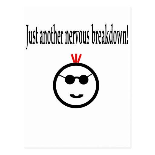 Just Another Nervous Breakdown Postcard