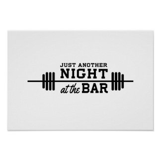 Just Another Night at the Bar Print