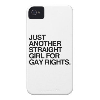 JUST ANOTHER STRAIGHT GIRL FOR GAY RIGHTS -.png Blackberry Bold Covers