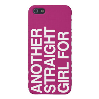 JUST ANOTHER STRAIGHT GIRL FOR GAY RIGHTS -.png Cases For iPhone 5
