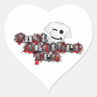 Just Another Tee 2014 Logo Heart Sticker