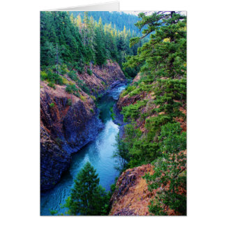 Just Around the River Bend Greeting Cards