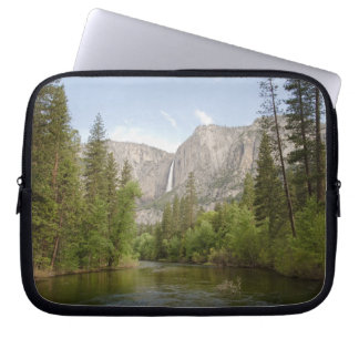 Just around the river bend laptop sleeve