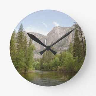 """""""just around the riverbend"""" collection round clock"""