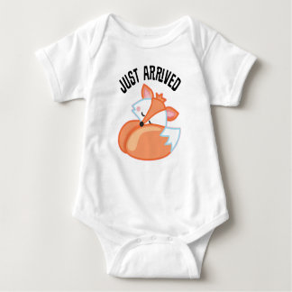 Just Arrived Sleeping Baby Fox Infant T-shirt