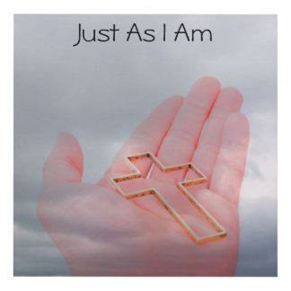 Just As I Am Wall Hanging Panel Wall Art