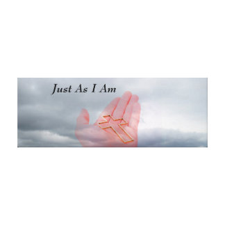Just As I Am Wrapped Canvas Art