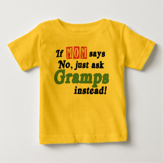 Just Ask Gramps Baby T-Shirt
