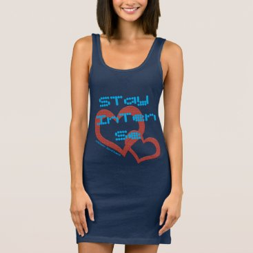 Beach Themed Just attractive! sleeveless dress