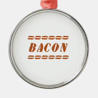 Just Bacon Metal Ornament