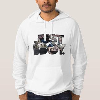 just bboy - with bboy in background sweatshirt