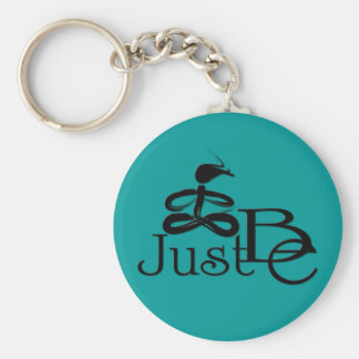 Just Be 8 Keychain