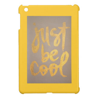 Just be cool cover for the iPad mini