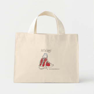 Just be Happy!  Tote Bags