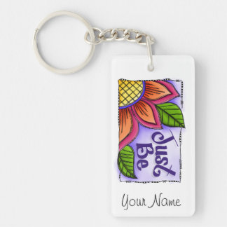 Just Be Keychain