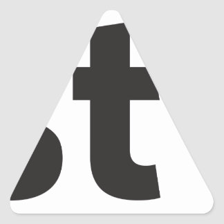 Just be triangle sticker