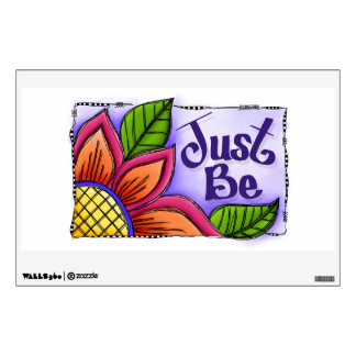 Just Be Wall Sticker