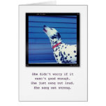 Just be You. Greeting Card