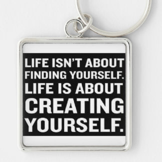 Just be you keychain