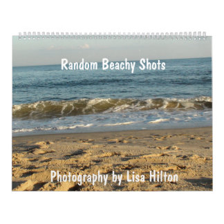 Just Beachy  Calendar