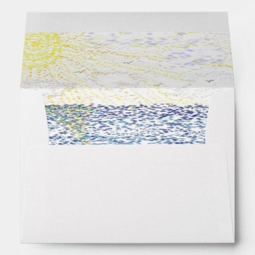 Just Beachy Envelope