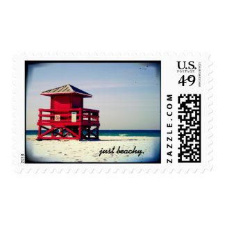 just beachy stamp