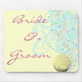 Just Beachy Wedding Mouse Pads