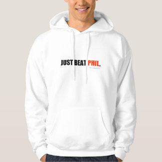 Just beat Phil hoodie - red