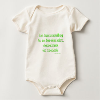 just because baby bodysuit