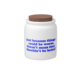 Just Because... Candy Jar