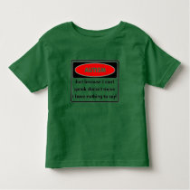 Just because I cant speak T-Shirt