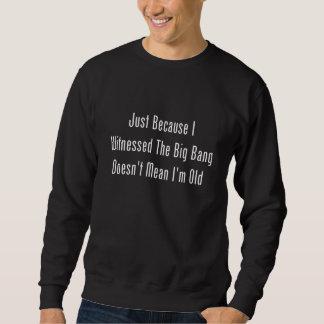 Just Because I Witnessed The Big Bang Sweatshirt