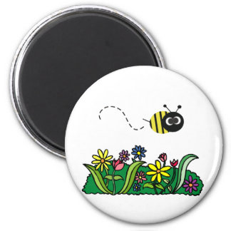 Just Bee 2 Inch Round Magnet
