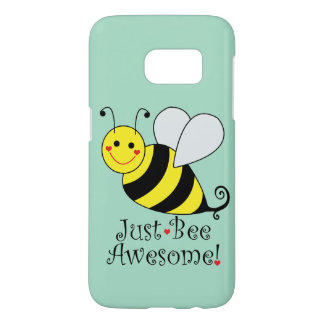 Just Bee Awesome Bumble Bee Samsung Galaxy S7 Case