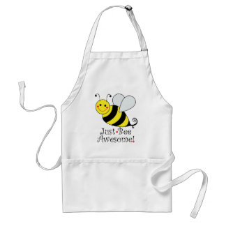 Just Bee Awesome Cute Bumble Bee Adult Apron