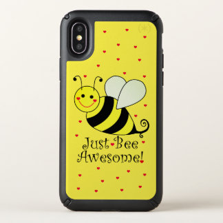 Just Bee Awesome Yellow Bumble Bee Speck iPhone X Case