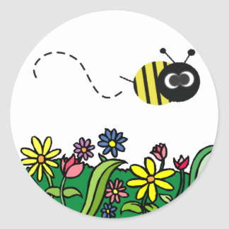 Just Bee Classic Round Sticker