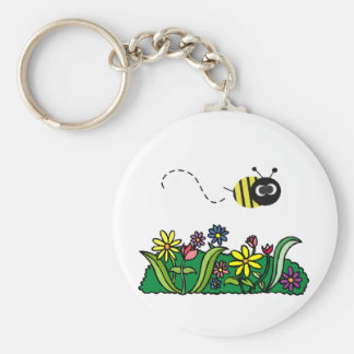 Just Bee Keychain