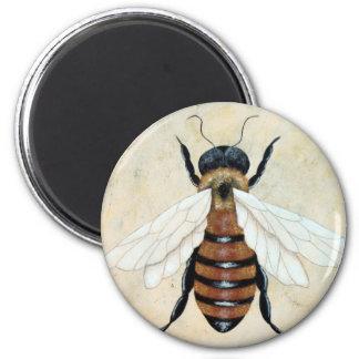 Just Bee Magnet by Biddybrain