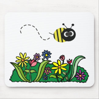 Just Bee Mouse Pad