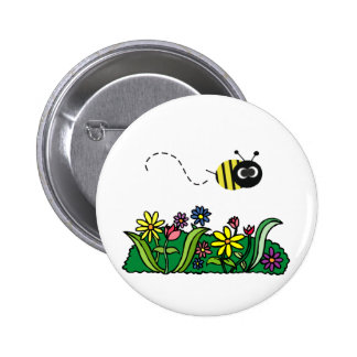 Just Bee Pinback Button