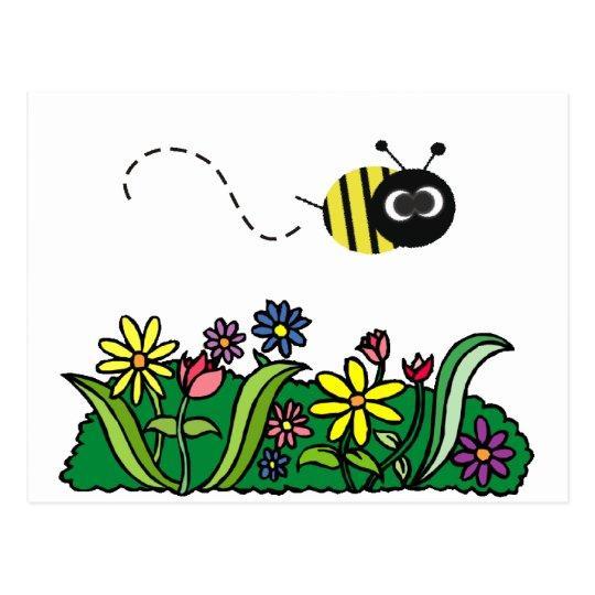 Just Bee Postcard