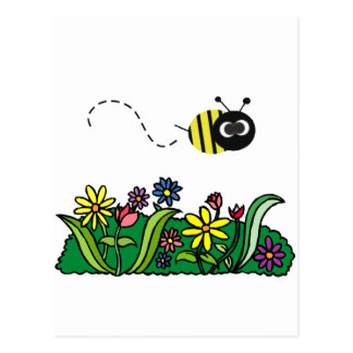 Just Bee Postcard