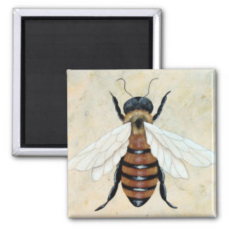 Just Bee square Magnet