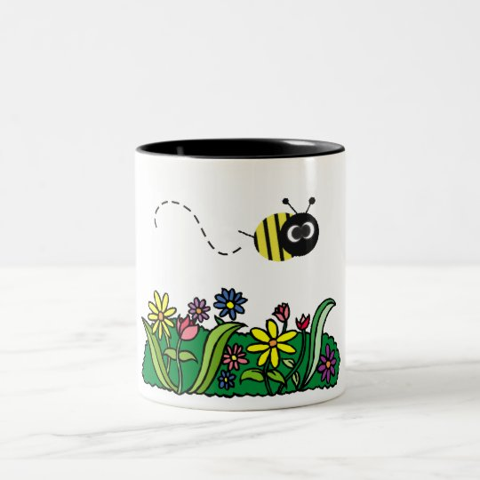 Just Bee Two-Tone Coffee Mug