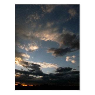 Just before dawn postcard
