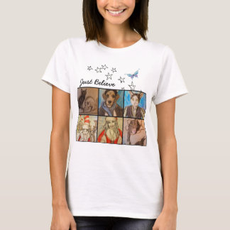 Just Believe, Artwork by Niecy Catz, T-Shirt